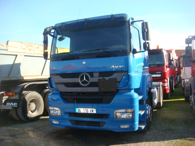 immat bl 116 vw tracteur routier mercedes benz axor 1840 2011 501506 kms savim. Black Bedroom Furniture Sets. Home Design Ideas